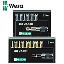 Wera Torsion Bit-Check Sets with Quick-Change Bit Holder