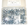 Lock Nut Kit - 250pc (M4 - M12)